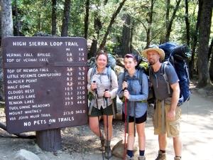 Backpacking Yosemite 2013
