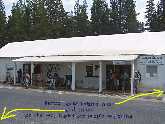 Tuolumne Store, Post Office, Bus Stop & Grill, late July 2012